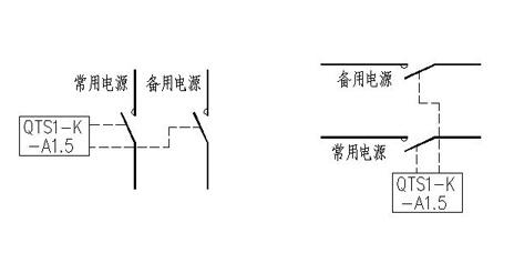 根据双电源切换开关下端负荷的计算电流
